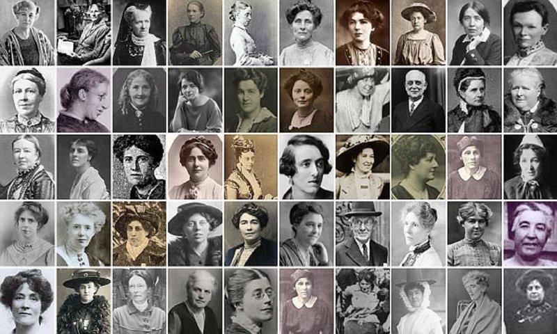 У истоков феминизма: история в женских лицах Право Голоса, женский социально-политический союз, истоки феминизма, история, права женщин, суфражистки, феминизм, феминистки