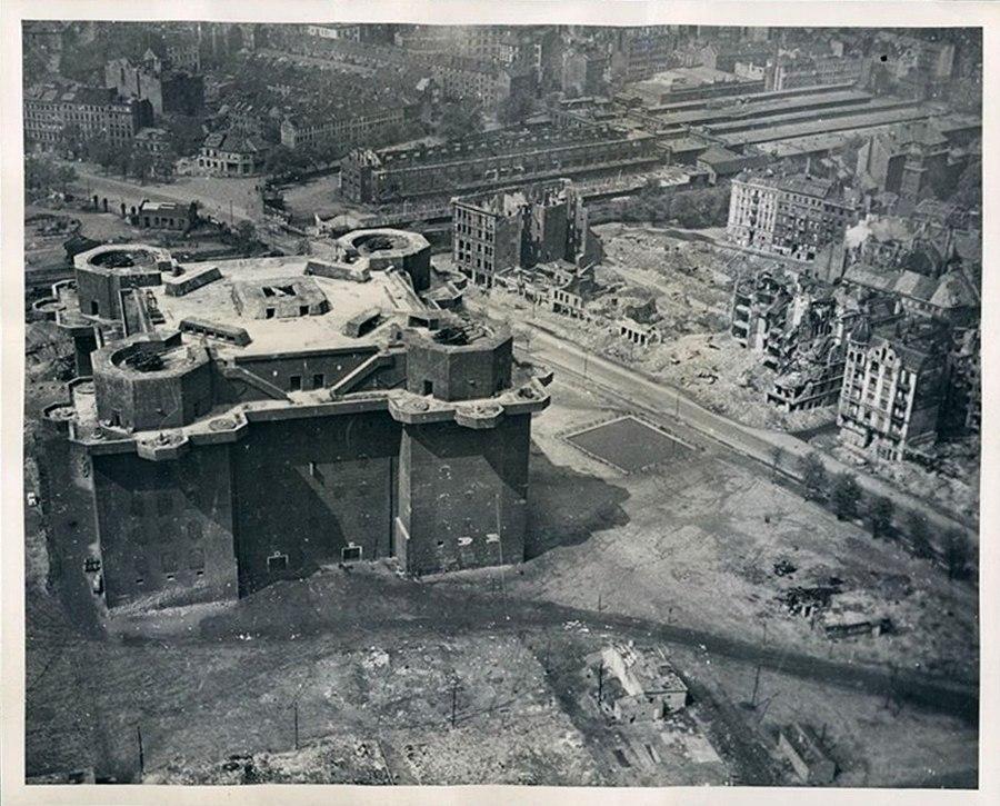 Зенитные крепости Гитлера