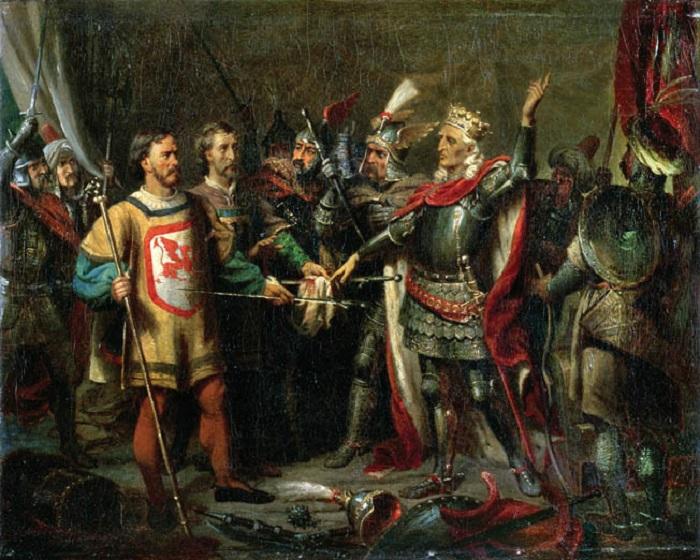 Сказ о том, как литовские князья два века с русскими женились, но всё равно друг друга не очень любили.